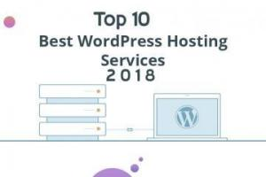 best wordpress hosting 2018