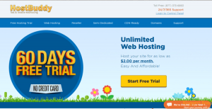 Hostbuddy free hosting