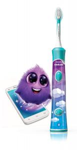 Philips Sonicare for Kids Bluetooth Toothbrush - for iOS & Android