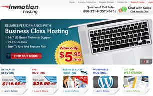 Inmotion-homepage