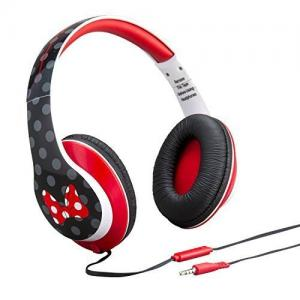 Minnie Mouse Over-the-Ear Fashion Headphones with in-line Volume Control