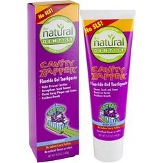 Natural Dentist Toothpaste Child Sparkle Berry Blast