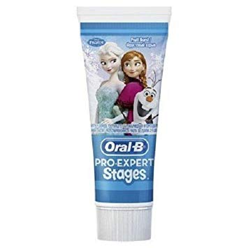Oral B Pro Expert Stages Disney Frozen Toothpaste 75 ml (Pack of 2)