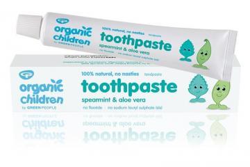 ( Organic Children Aloe Vera & Spearmint Toothpaste