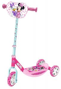 Smoby 750167 Mickey Mouse and Friends Minnie Mouse 3-Wheel Scooter