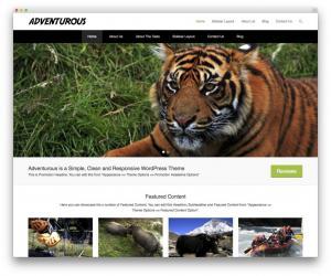 Adventurous-free-portfolio-theme