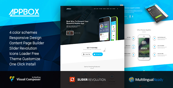 Appbox - App Landing & App Store
