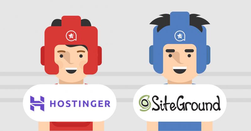 Hostinger vs SiteGround - Comparison of Hosting