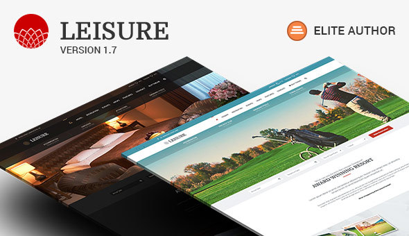 Hotel WordPress Theme Hotel Leisure