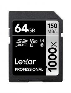 LEXAR PROFESSIONAL 1000X SDHC