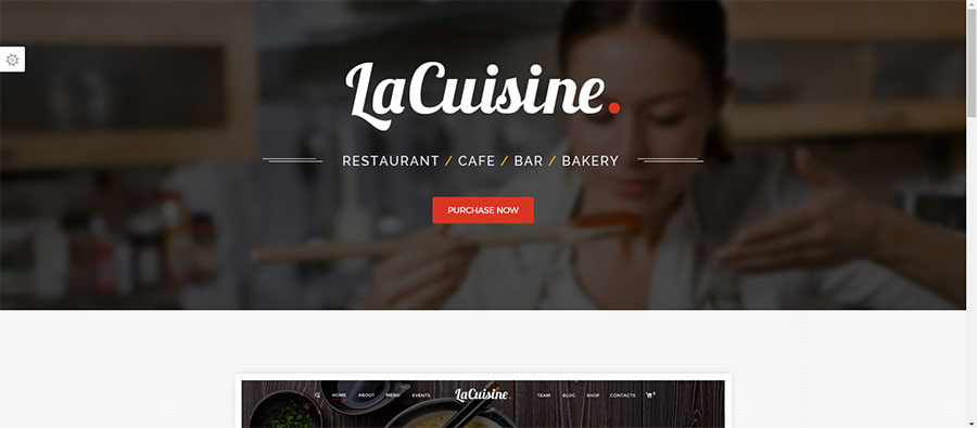 LaCuisine - Restaurant WordPress Theme - Restaurants & Cafes