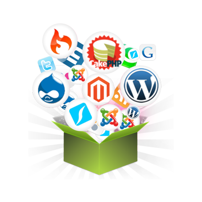 Most used applications in website hosting