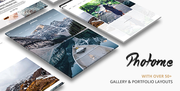 Photo Me Photo Photography WordPress Theme