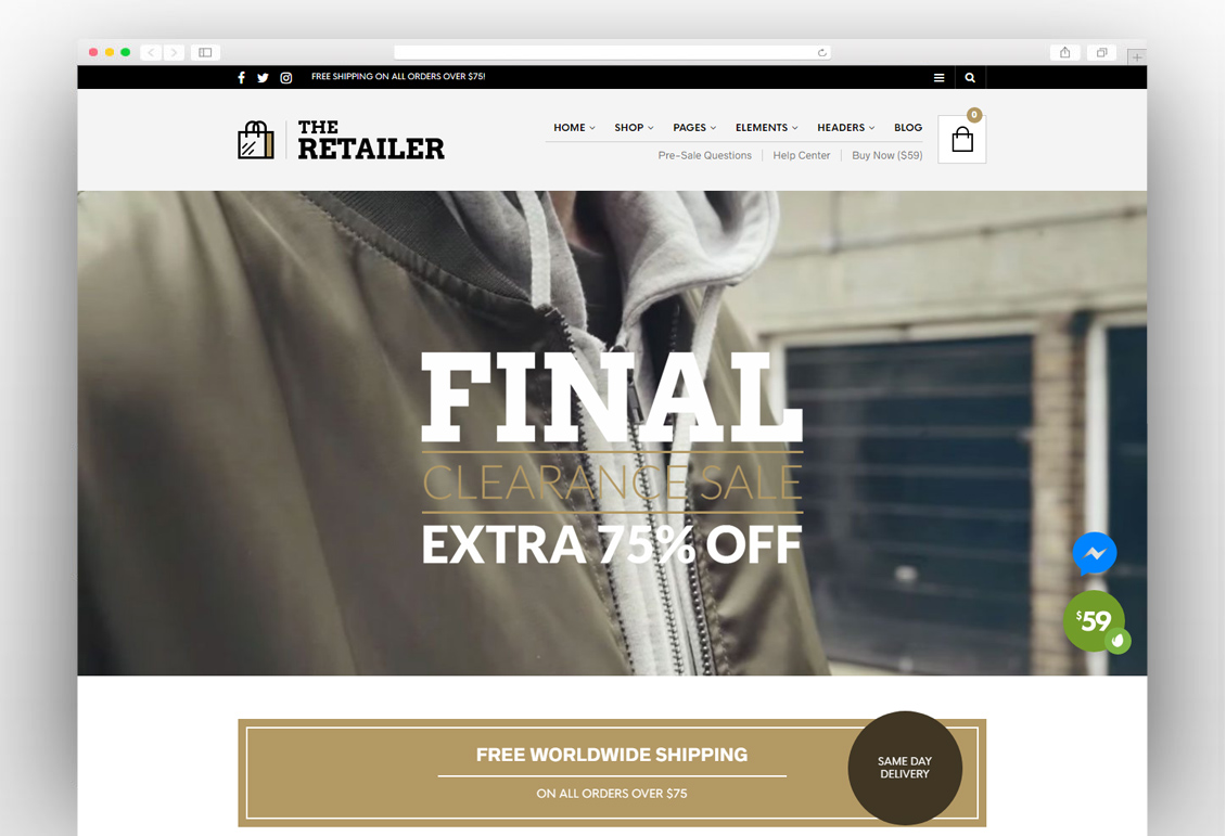The Retailer - Premium WooCommerce Theme