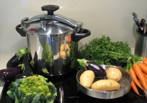 The capacity of the pressure cooker