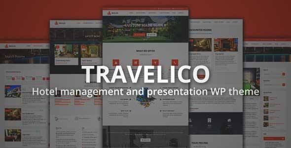 Travelico- Hotel Booking & Presentation WP Theme - Travel