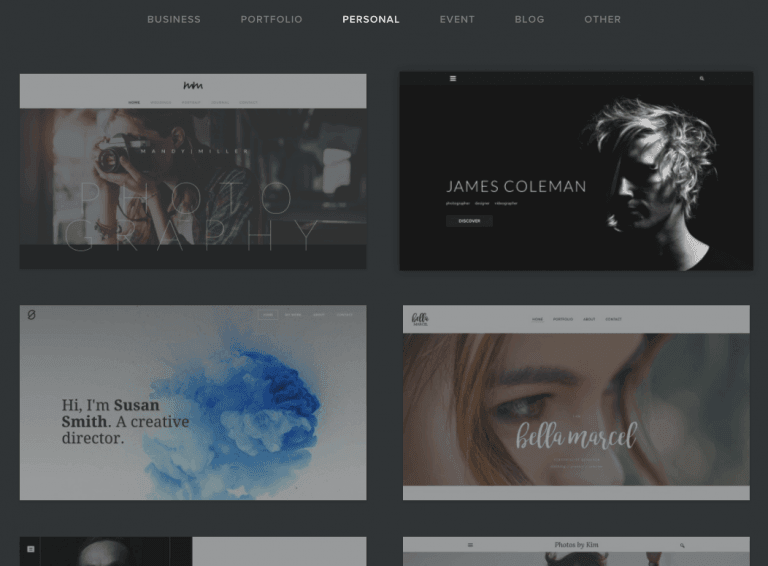 Website builder Weebly