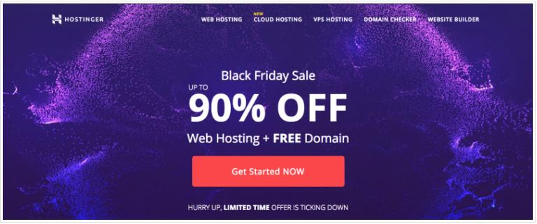 hostinger black friday offer