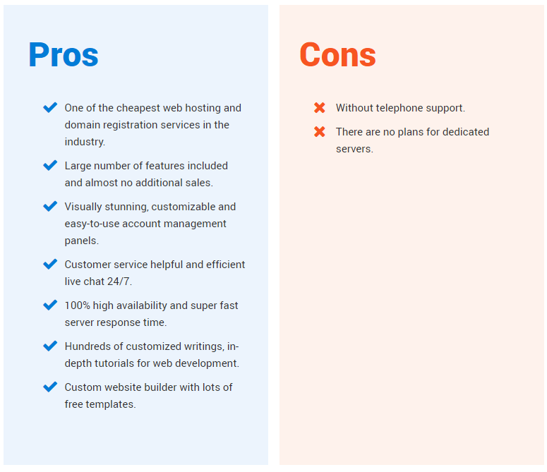 hostinger pros and cons