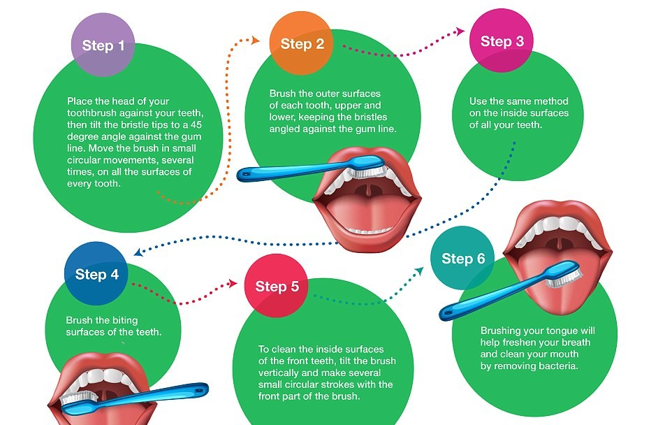 Brush your teeth correctly