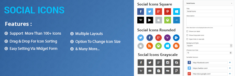 Social Icons (FREE)- Social Media Icon Sets For Your Website