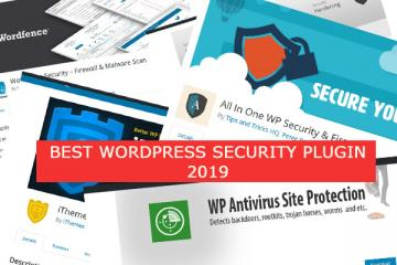 Best WordPress Security Plugins 2019