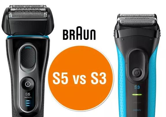 Braun Series 3 vs Series 5