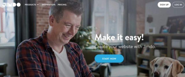 Jimdo best website builder