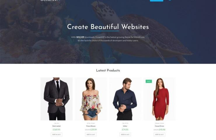 OceanWP- Free Multi-Purpose WordPress Theme