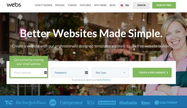 Webs Builder
