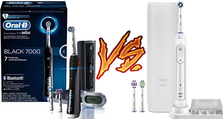 Oral B 7000 vs 7500