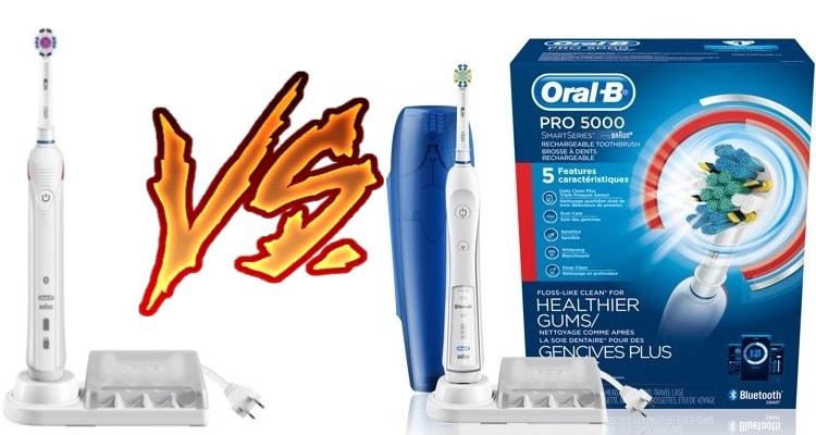 Oral B Pro 3000 vs 5000