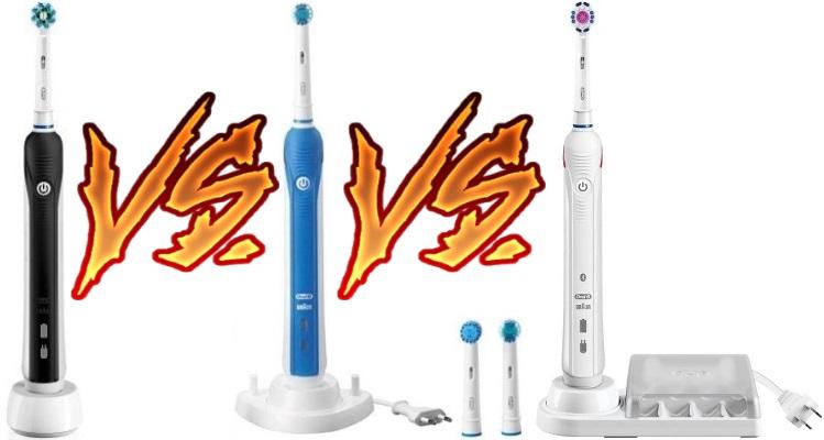 Oral B 1000 vs 2000 vs 3000