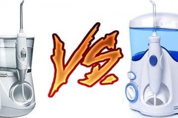 Waterpik Aquarius vs Ultra