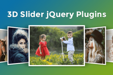 Best jQuery 3D Slider Plugins