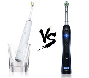 Philips Diamond Clean VS Oral-B Black 7000