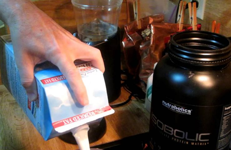 How To Make Protein Shakes Without Any Foam / Froth