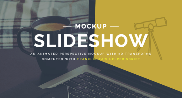 Perspective Mockup Slideshow with CSS3 & JavaScript