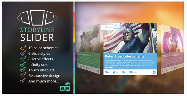 Storyline 3D Slider with jQuery & CSS3