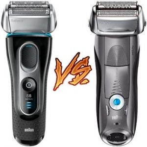 Braun Series 5 5190cc vs Series 7 790cc