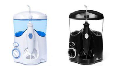 Waterpik-Ultra-water-flosser-in-black-wp-112-and-white-Wp-100