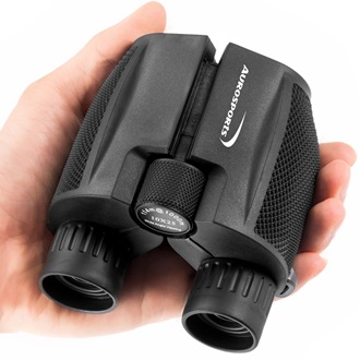 Aurosports 10×25 Folding High Powered Binocular