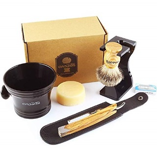 Anbbas Straight Razor Shaving Set