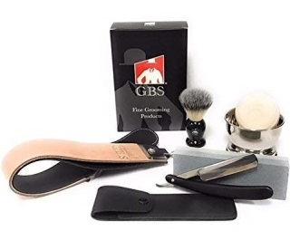 GBS Straight Razor Grooming Kit