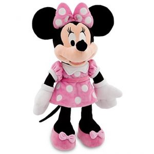 Disney 18'' Minnie Mouse in Pink Dress Plush Doll