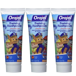 Orajel-Toddler-Training-Toothpaste-Tooty-Fruity-Flavor