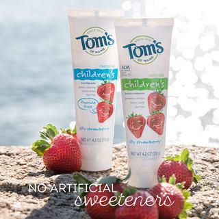 Tom's of Maine Fluoride-Free Children's Toothpaste