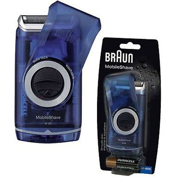 Braun-Washible-Pocket-Mobile-Shaver-M60b